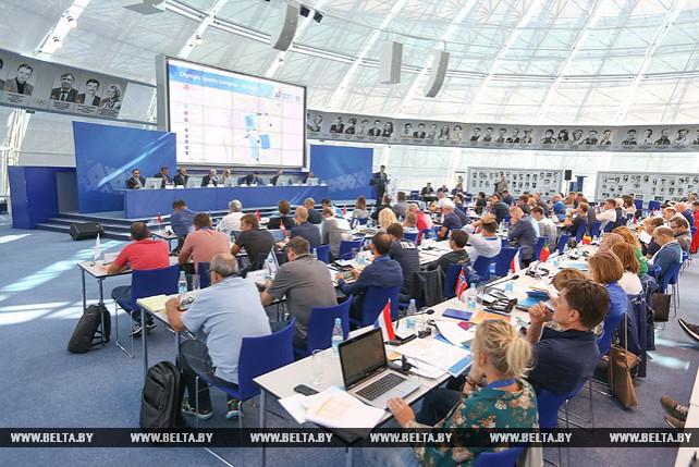 Семинар для глав европейских сборных на II Европейских играх в Минске