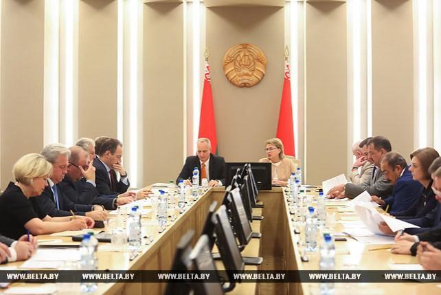 Рабочая встреча Марианны Щеткиной с руководителями загранучреждений Беларуси