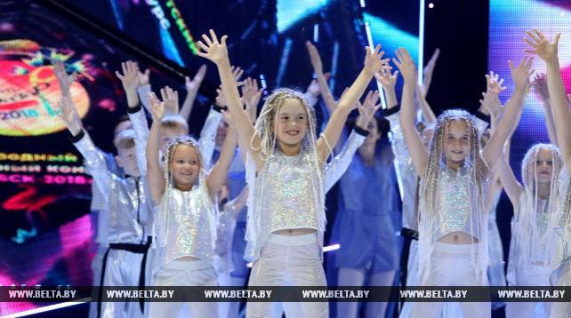 """Участники детского конкурса """"Витебск"""" выступили в первый день творческого состязания"""
