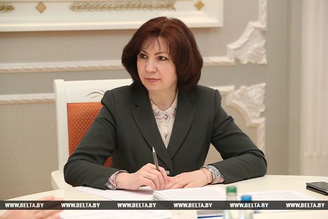 Кочанова провела прием граждан в Лепеле