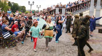 Фест уличного искусства прошел в Витебске
