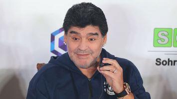 Марадона провел пресс-конференцию в Бресте