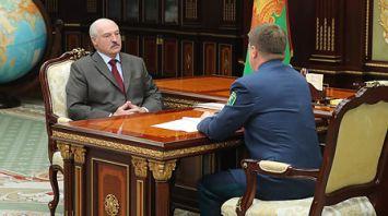 Лукашенко встретился с председателем ГТК