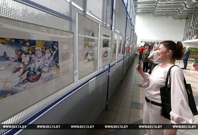 Выставка художника Олега Карповича открылась в Минске