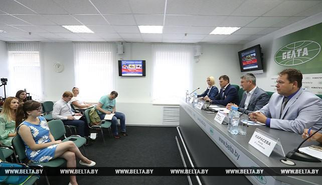 Пресс-конференция о турнире FEI и чемпионате Беларуси по конному троеборью прошла в БЕЛТА