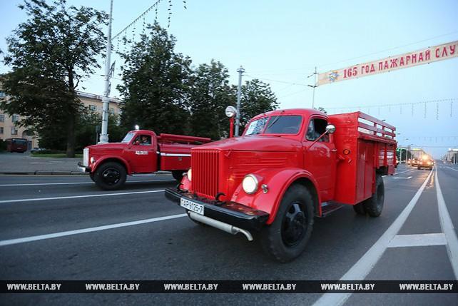 Репетиция парада МЧС прошла в Минске