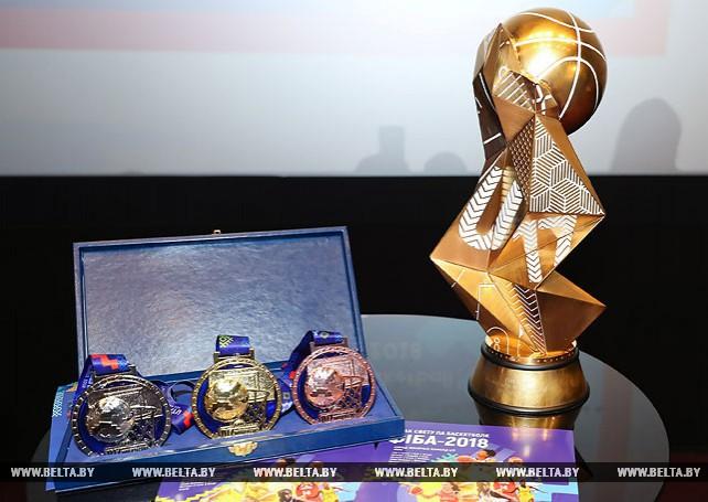 Почетный трофей юниорского ЧМ по баскетболу среди девушек представлен в Минске