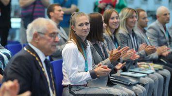 Презентация серии почтовых марок в честь медалистов Олимпийских и Паралимпийских игр-2018 прошла в НОК Беларуси