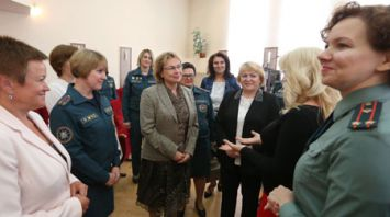Первая конференция Союза женщин МЧС прошла в Минске