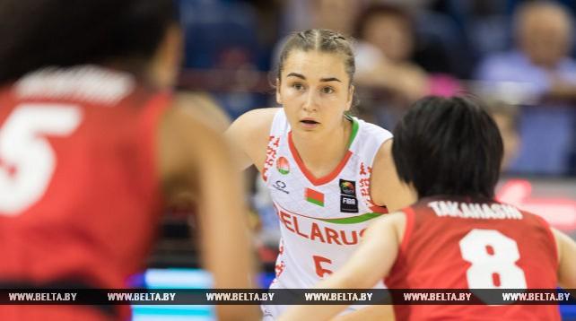 Белорусские баскетболистки проиграли японкам на ЧМ в Минске
