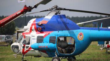 Минск принимает ЧМ по вертолетному спорту