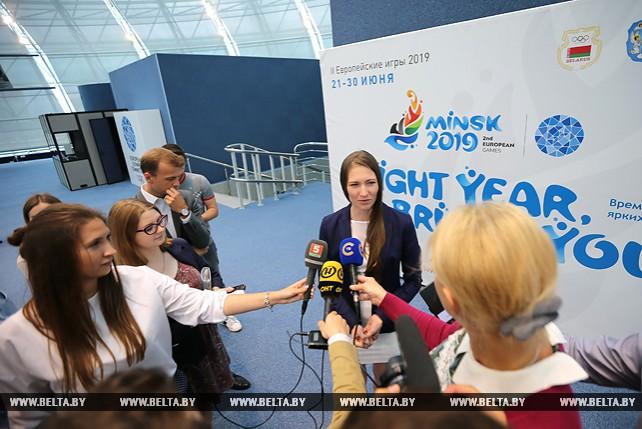 Дарья Домрачева стала первым звездным послом II Европейских игр