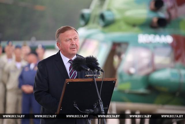 Кобяков принял участие в торжественном открытии 16-го чемпионата мира по вертолетному спорту на аэродроме Липки
