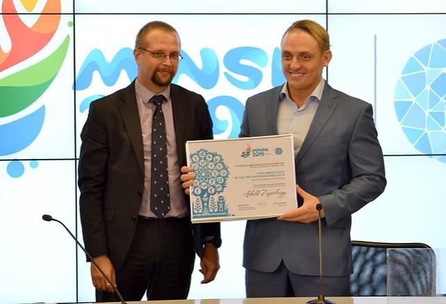 Братья Запашные получили статус звездных послов II Европейских игр