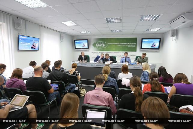 Брифинг по теме увеличения срока безвизового пребывания для иностранцев в Беларуси прошел в пресс-центре БЕЛТА