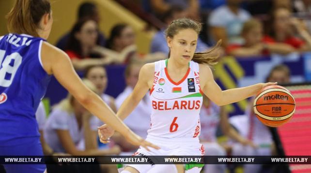 Белорусские баскетболистки не вышли в 1/4 финала юниорского ЧМ в Минске