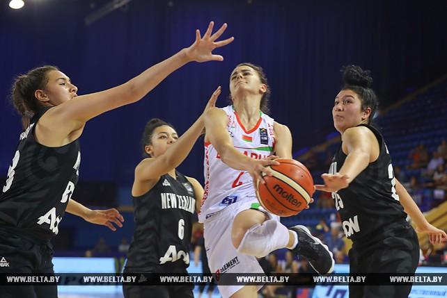 Белорусские баскетболистки проиграли Новой Зеландии на юниорском ЧМ в Минске