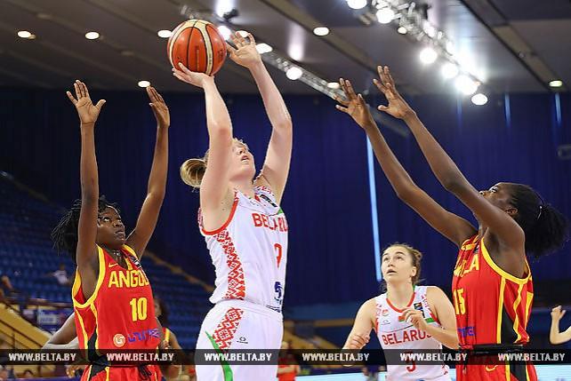 Белорусские баскетболистки заняли 15-е место на ЧМ среди девушек в Минске