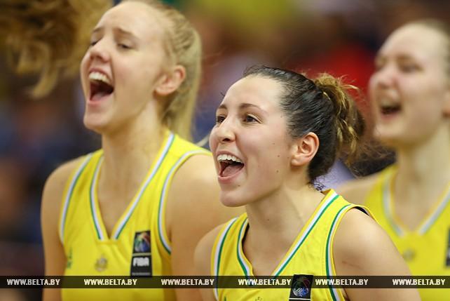 Австралийские баскетболистки заняли 3-е место на ЧМ среди девушек в Минске