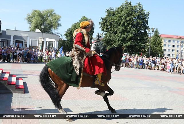 Рыцарский фест прошел в Мстиславле