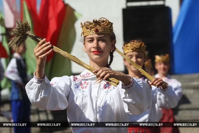 "В СПК ""Прогресс-Вертелишки"" прошли ""Дажынкі"""