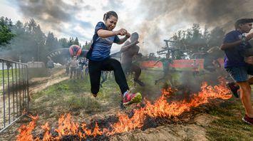Соревнования Bison Race прошли в Логойском районе