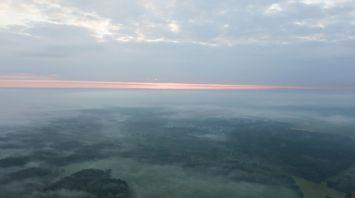 Минский район с высоты птичьего полета
