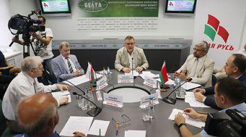 Презентация Концепции истории белорусской государственности состоялась в пресс-центре БЕЛТА