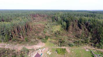 Ураган прошел по Островецкому району
