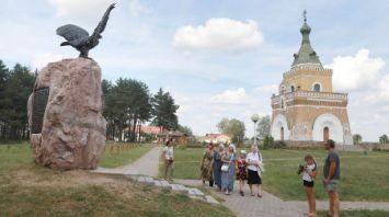 Мемориальный комплекс в деревне Лесная Славгородского района