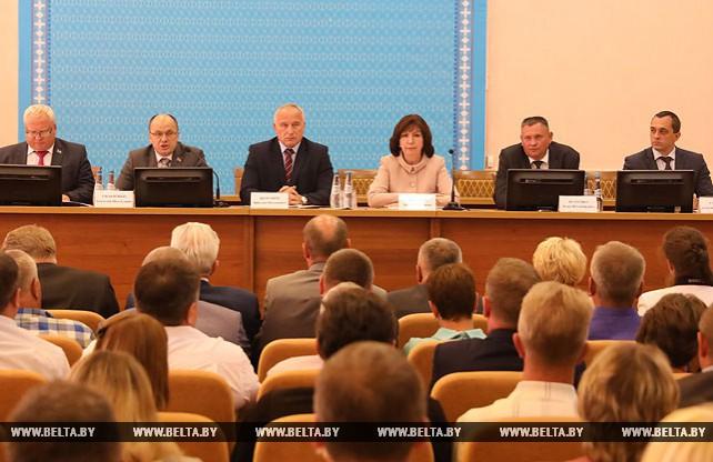 Кочанова представила нового председателя Оршанского райисполкома