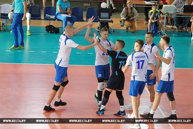 Волейболисты сборной Беларуси победили Норвегию на старте квалификации ЧЕ-2019