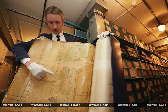 Раритеты рода Радзивиллов хранит Национальный исторический архив Беларуси