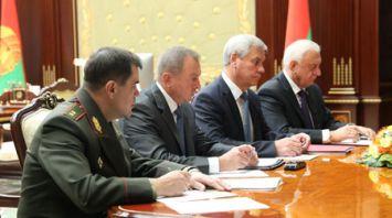 Александр Лукашенко провел совещание по кадровым назначениям во Дворце Независимости
