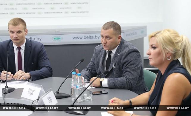 """Круглый стол """"Что и почему нужно менять в сфере туризма"""" прошел в пресс-центре БЕЛТА"""