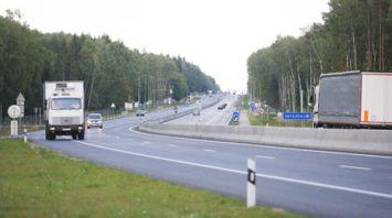 На реконструируемом участке автомагистрали М6 Минск-Гродно открылось движение