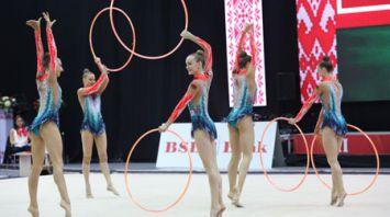 Белорусские грации завоевали 7 наград на этапе КМ в Минске