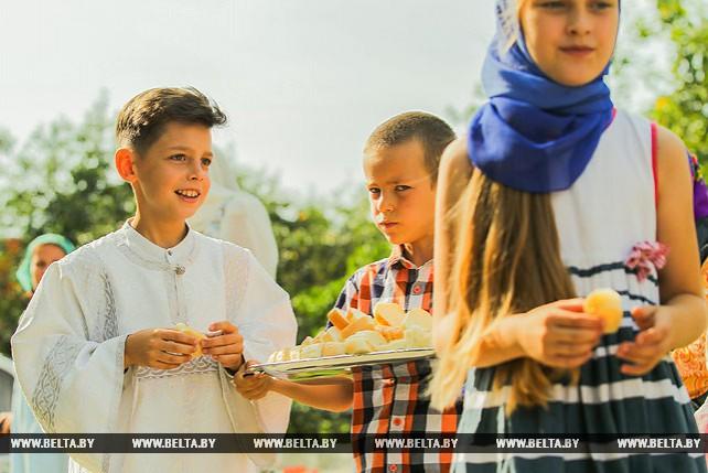Празднование Яблочного Спаса в Брестском районе