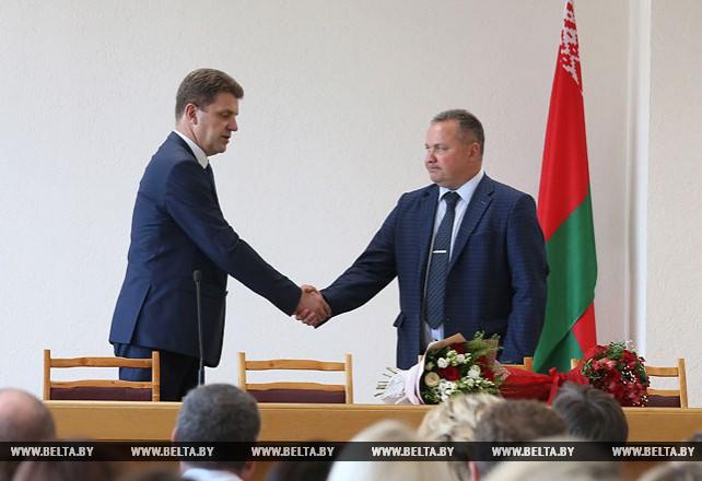 Нового министра представили коллективу Минстройархитектуры