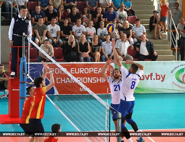 Волейболисты сборной Беларуси победили Испанию в отборе к ЧЕ-2019