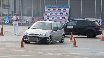 Чемпионат Беларуси по автослалому прошел в Могилеве