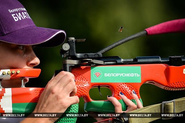 Новый сезон Кубка Белорусской федерации биатлона стартовал в Гродненской области