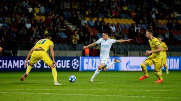 Футболисты БАТЭ проиграли ПСВ в домашнем матче плей-офф Лиги чемпионов