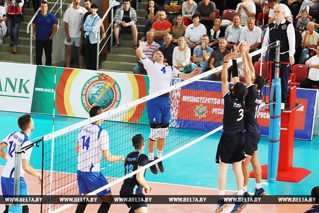 Белорусские волейболисты победили Грузию в отборочном матче к ЧЕ-2019