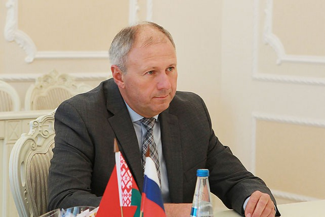 Румас встретился с послом России в Беларуси