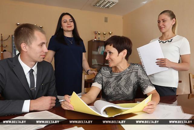 Молодые специалисты пополнили коллектив витебской СШ №31