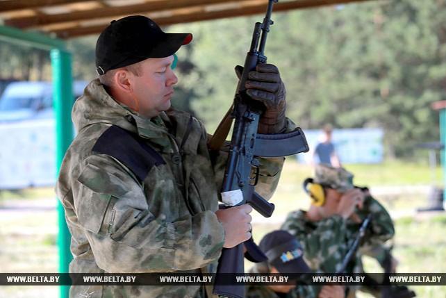 Чемпионат МВД Беларуси по стрельбе из табельного оружия проходит в Могилевской области