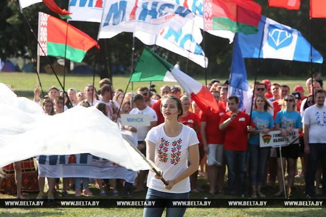 """Республиканский фестиваль """"Олимпия"""" стартовал в Воложинском районе"""