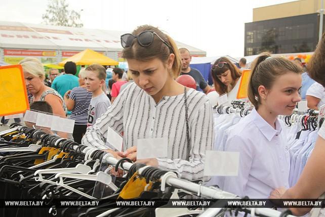Общеобластная школьная ярмарка развернулась в Кобрине