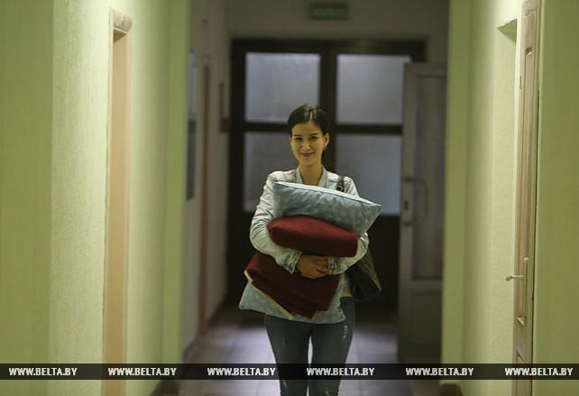 Студенты БГУ заселяются в общежития